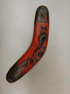 Australia made souvenir boomerang