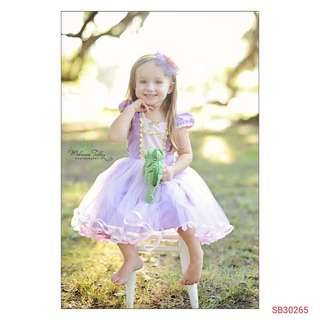 Rapunzel Dress (wechat : strawmint)