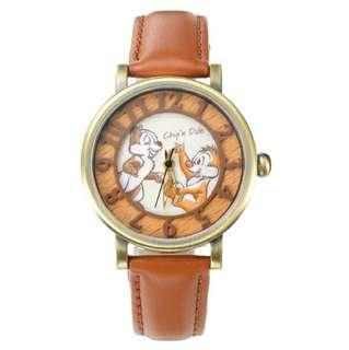 日本廸士尼CHIP & DALE 75週年版手錶