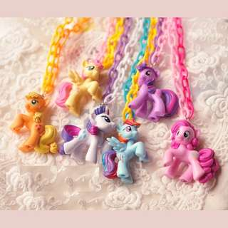 BMT462 - Little Pony Figurine Necklace