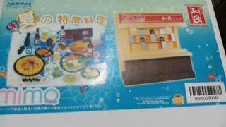 Mimo和民夏之特撰料理配件四款A,B,C,D