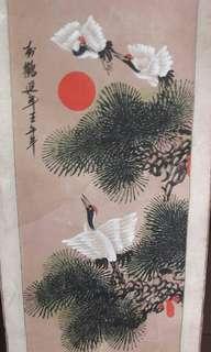 Lukisan Kertas Cina uk 75 cm