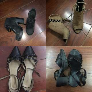 SHOES (BUY ALL FOR 599)