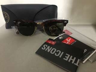 BN Ray Ban Clubmaster tortoise rb3016