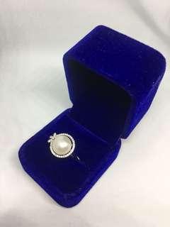 純銀淡水珍珠介子