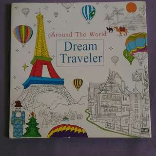 DREAM TRAVELER Coloring Book