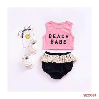 Baby set wear (wechat : Strawmint)