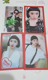 TWICE What Is Love Photocard Card PC Dahyun Chaeyoung