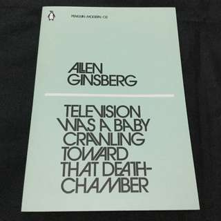 GINSBERG - Television Was a Baby Crawling Toward That Deathchamber