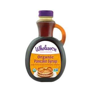 Wholesome Organic, Gluten Free Pancake Syrup, 591 ml