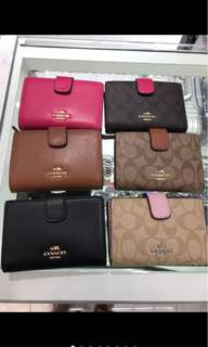 Coach wallet mirror