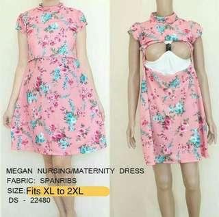 Nursing/maternity dress