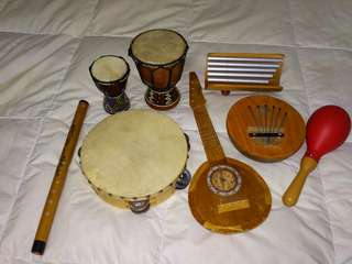 Music percussions ( combo )