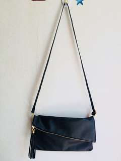 Givenchy black crossbody bag/clutch