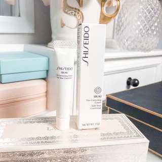 💚 Shiseido ibuki eye correcting cream 5ml • authentic travel size skincare