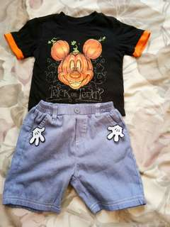 Mickey Sets 2t