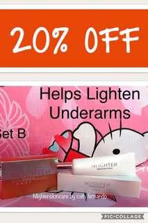 20% OFF Nlighten Whitening Underarmcream