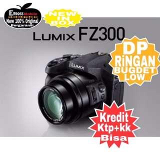Panasonic Lumix DMC FZ300 Resmi-kredit Dp 1jt  ditoko ktp+kk wa;081905288895