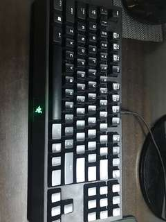 Razer keyboard and mouse
