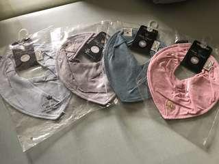 瑞典【 Elodie Details】有機棉領巾型口水巾-