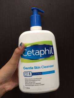 Cetaphil gentle skin cleanser 1 L