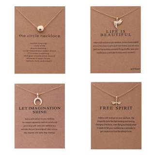 [In Stock] 2018 Inspiring European Style Necklaces