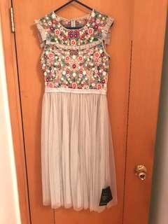 Needle and thread dress 🈹未剪牌🈹紗裙