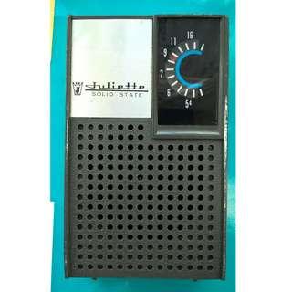 Vintage Juliette APR-256 Transistor Radio