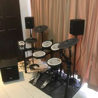 Roland TD11KV(Mesh Head) Electronic Drumset
