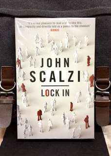 # Novel《New Book Condition + Near-Future Science Thriller Fiction + 2014 Hugo Award-Winner》John Scalzi - LOCK IN