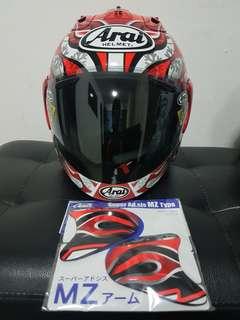 ( Installment Available ) Arai R4 Haga GP size XL