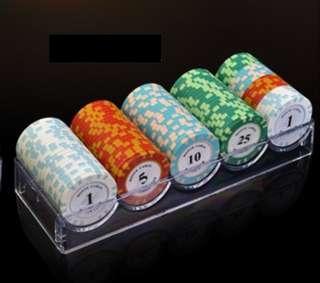 100 poker chips set