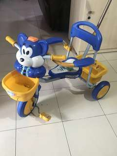 Kids Tricycle with back handle