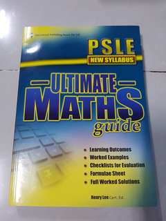 Ultimate Maths Guide for PSLE