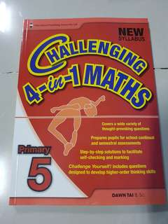 Challenging 4-in-1 Maths