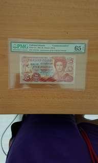 Falkland banknote