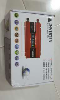 New inverter 1000w 12vdc/ 110vac