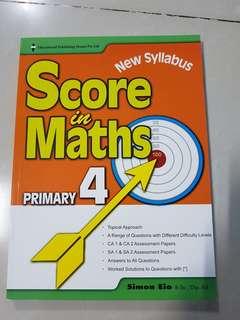 Score in Maths