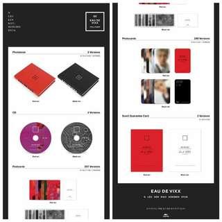 VIXX Album Vol 3 - Eau De VIXX