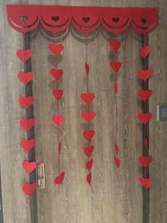 婚後物資*門裝飾