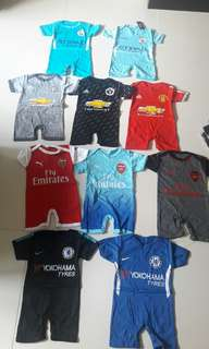 Bany rompers football