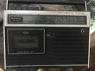 古董sony 收音機