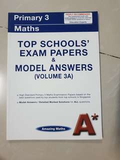 Maths Primary 3 Exam Papers