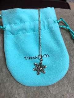Tiffany&co. 雪花項鍊