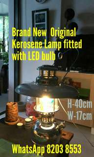 Retro Antique Kerosene Oil Lamp Lantern light fitted with energy saving LED bulb ceiling your old table and chair sofa furniture wall light