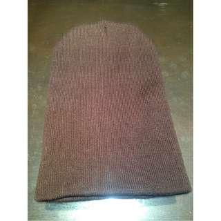 Plain Brown Beanie