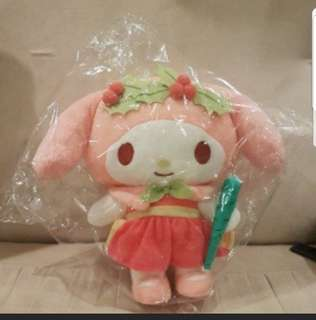 In stock sanrio my melody plush toy changi airport