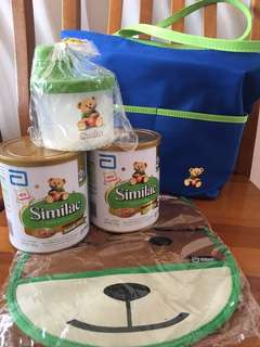 BN similac stage 2 + free items