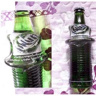 可口可樂Fanta泰國280毫升彎曲玻璃樽
