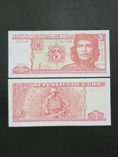 Cuba 3 Pesos 🇨🇺 !!!